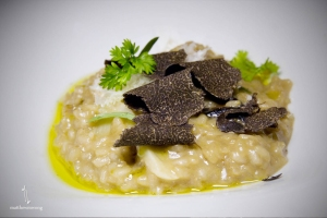 Black Truffle Risotto from Jose Andres' The Bazaar