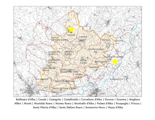 Map of Roero Regions copy